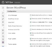 Плагін Secure WordPress українська версія